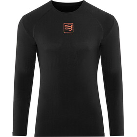 Compressport 3D Thermo UltraLight Hardloopshirt lange mouwen, black